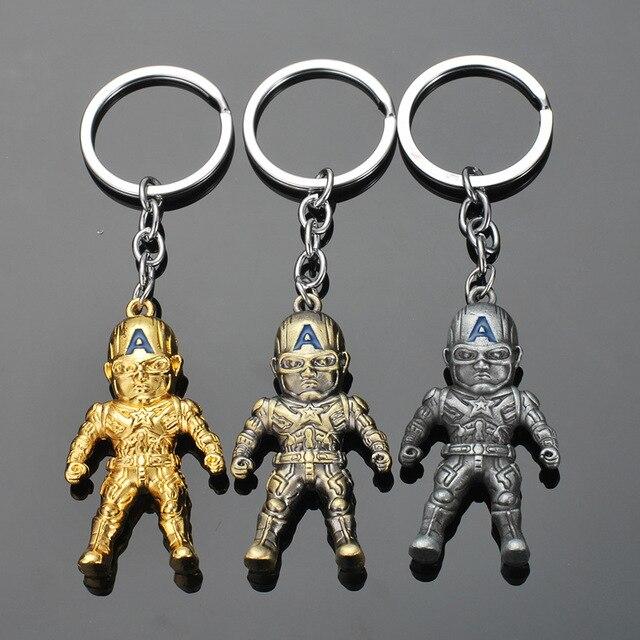 Брелок металлический фигурки героев марвел и DS Comics 3