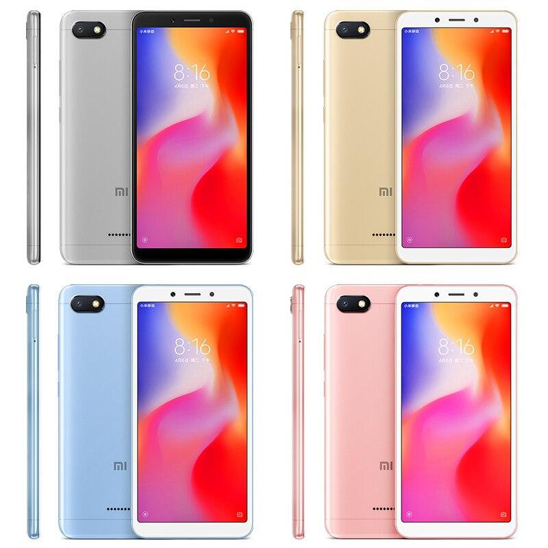 c9da57cfb Global Versão Xiaomi Redmi 6A 6 UM 2 GB 16 GB A22 Helio de Smartphones Quad  Core 5.45