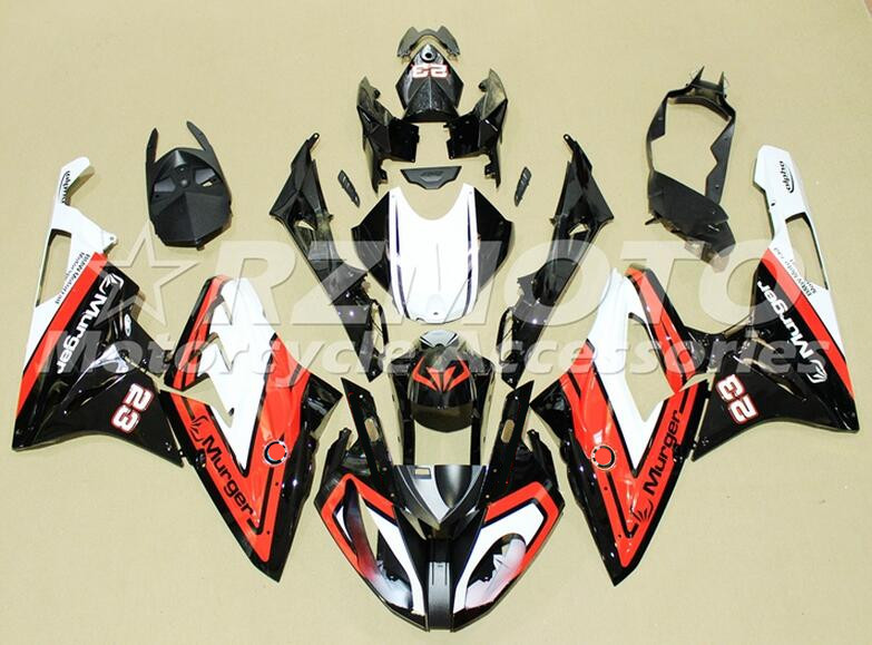 New ABS motorcycle Fairings Kit Fit For BMW S1000RR 2015 2016 S1000 2015 2016 Injection Mold Bodywork set Custom Nice Red Black image