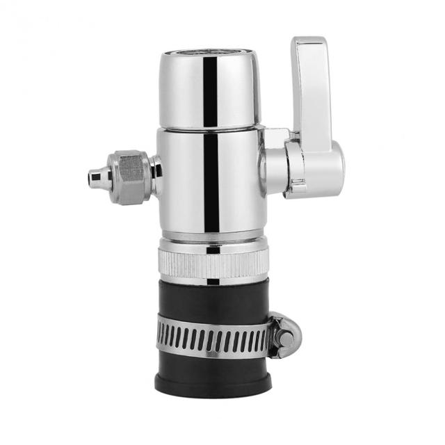 WALFRONT 1/4inch Universal Water Filter Faucet Tap Adapter Outlet ...