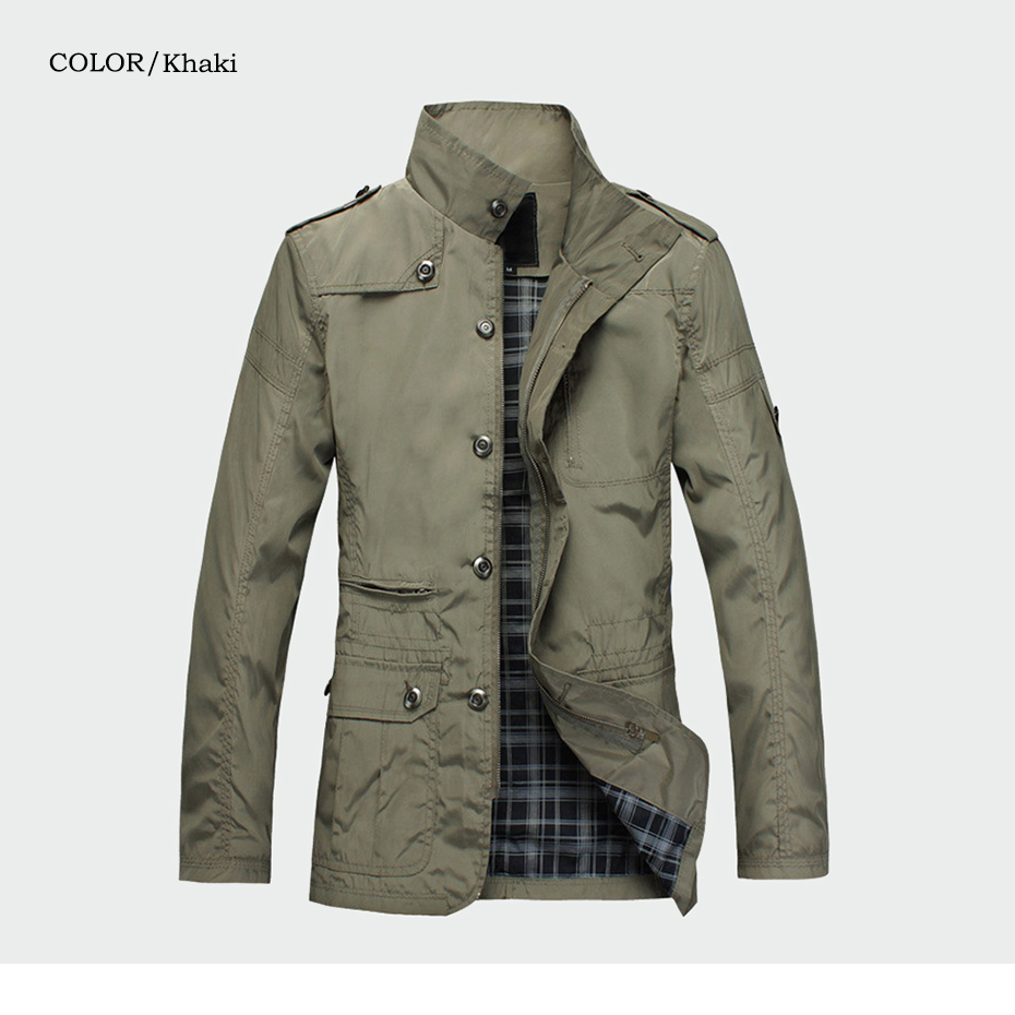 Fashion Thin Men's Jackets Hot Sell Casual Wear Korean Comfort Windbreaker Autumn Overcoat Necessary Spring Men Coat M-5XL ML091 16