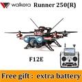 (Dom gratuito de uma bateria extra) Walkera 250 Runner Runner Advance 250 (R) DEVO F12E GPS FPV RC Quadcopter Zangão 1080 P Câmera ORKUT
