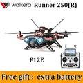 (Regalo libre una batería adicional) Walkera Runner 250 Corredor Avance 250 (R) DEVO F12E GPS FPV RC Quadcopter Drone 1080 P Cámara RTF