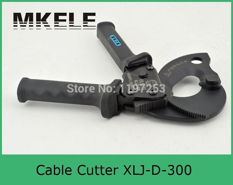 High Quality MK-XLJ-D-300 Mechanical Cable Cutter large Cord Cordless Clamp China mk xlj d 240a hydraulic cable cutter ratcheting cable cutter park tool cable cutter