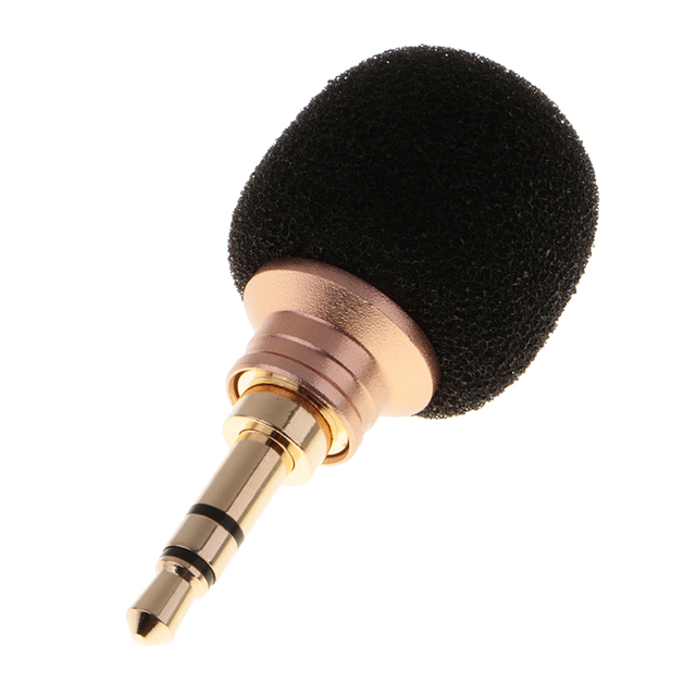 Mini 3.5mm Jack Plug Voice Mic Microphone For Recorder Phone Laptop Portable High quality