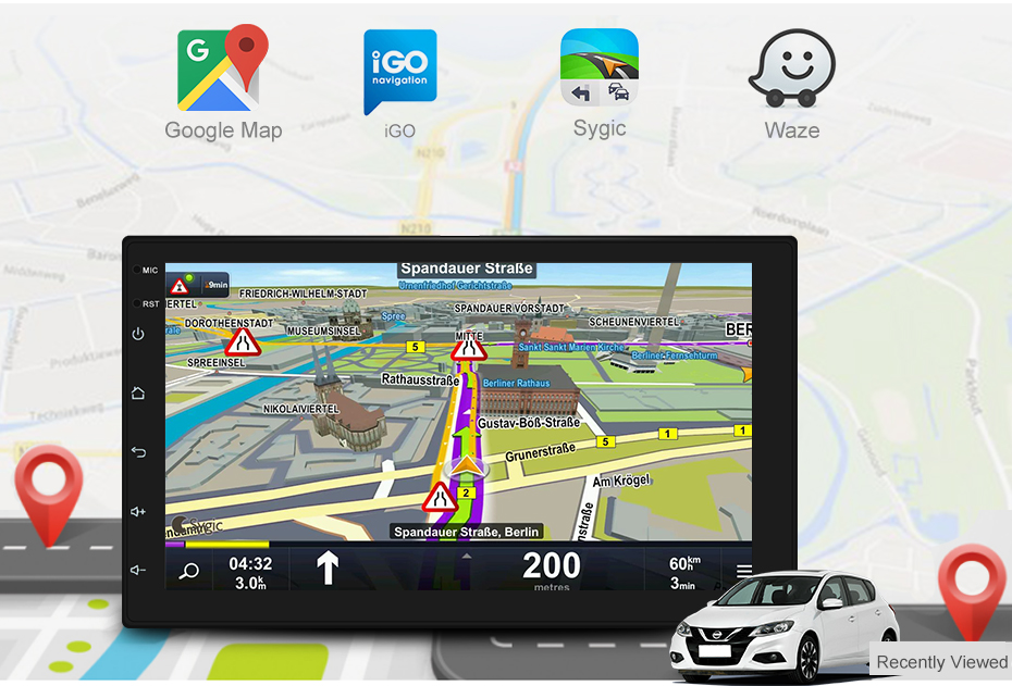 Player THREECAR 8 Touchscreen 10