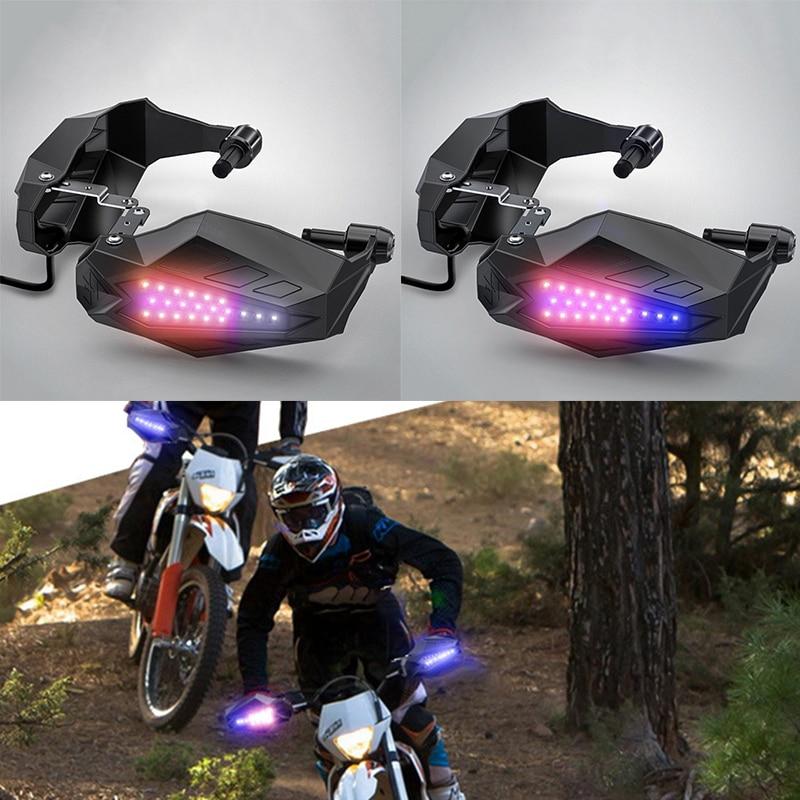 Protection de LED universelle pour moto Protection contre les chutes de Motocross Protection de pare-brise étanche pour lumière LED
