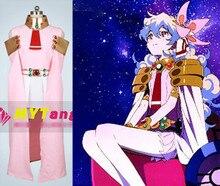 Anime GurrenLagann Nia Teppelin cosplay del Color de Rosa vestido de fiesta de disfraces de halloween para las mujeres shipping