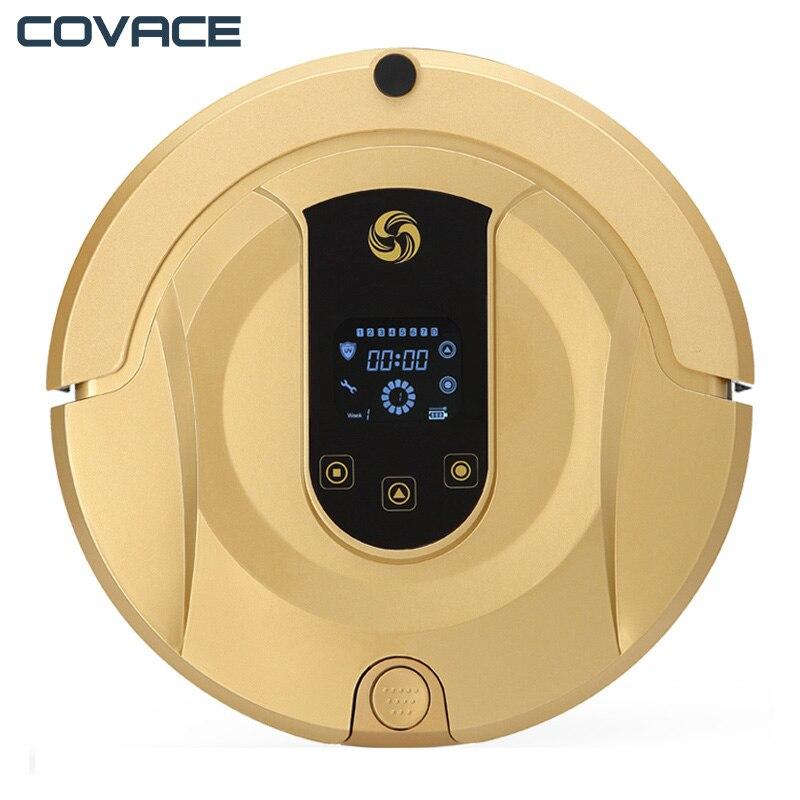 COVACE Robotique Aspirateur Vide Vadrouille Balayage 3 dans 1 Cleaner pour les Poils D'animaux Wifi Connecté Robot Vide 1200 Pa