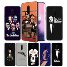 The Godfather Soft Black Silicone Case Cover for OnePlus 6 6T 7 Pro 5G Ultra-thin TPU Phone Back Protective