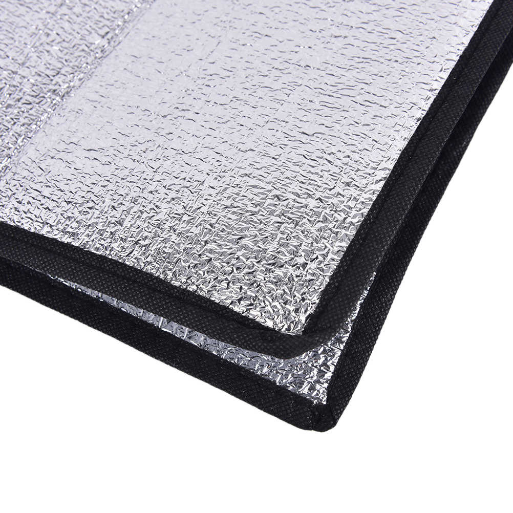 1PCS Foldable Folding Picnic Beach Mattress silver Outdoor Mat Pad Waterproof Aluminum Foil EVA Camping Mat