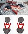3 unids bebé set Sombrero + Tie + Pants Ropa de Piloto hechos a mano recién nacido fotografía niñas bebé niño props