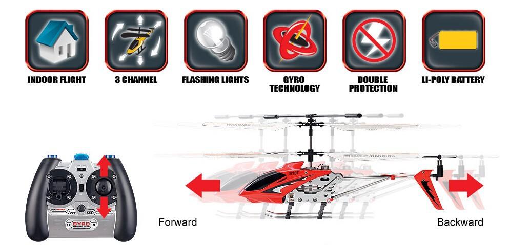 une hélicoptère télécommande RC 3