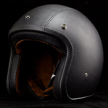 Capacete Motorcycle helmet 3/4 open face helmet retro electric casco moto men and women for four Seasons