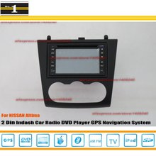 For NISSAN Altima 2007 ~ 2012 – Car Radio Stereo CD DVD Player / HD Touch Screen Audio Video GPS Navigation System