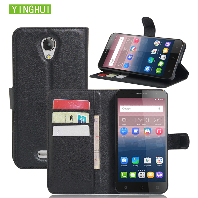 Phone <font><b>Case</b></font> Leather Vintage Wallet Cover <font><b>For</b></font> <font><b>Alcatel</b></font> <font><b>POP</b></font> <font><b>4</b></font> <font><b>5051D</b></font> <font><b>Case</b></font> Flip Protective <font><b>Case</b></font> <font><b>For</b></font> <font><b>Alcatel</b></font> <font><b>POP</b></font> <font><b>4</b></font> <font><b>5051D</b></font> Leather <font><b>Case</b></font> image