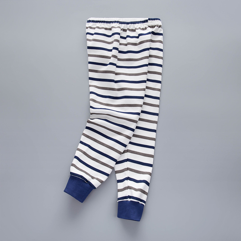 Summer Baby Kids Childrens printing striped Toddler Classic Leggings boys girls pants Girls legging 3-12Y baby girl leggings