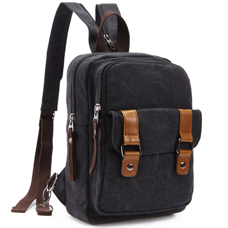 87a8358ca418 New Backpack Men Europe Design Student Men s Travel Bag Black Canvas  Backpacks School Bags for Teenagers Boys Rugzak Morrales-in Backpacks from  Luggage ...