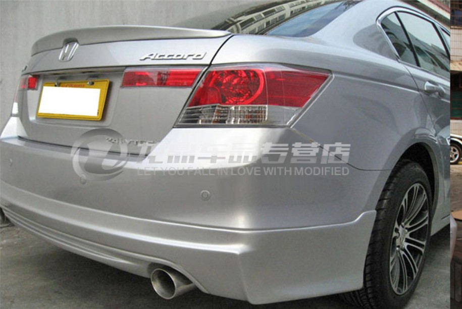 Spoiler For HONDA Accord 2008 2009 2010 2011 2012 2013 High Quality Rear Wing Spoilers Trunk
