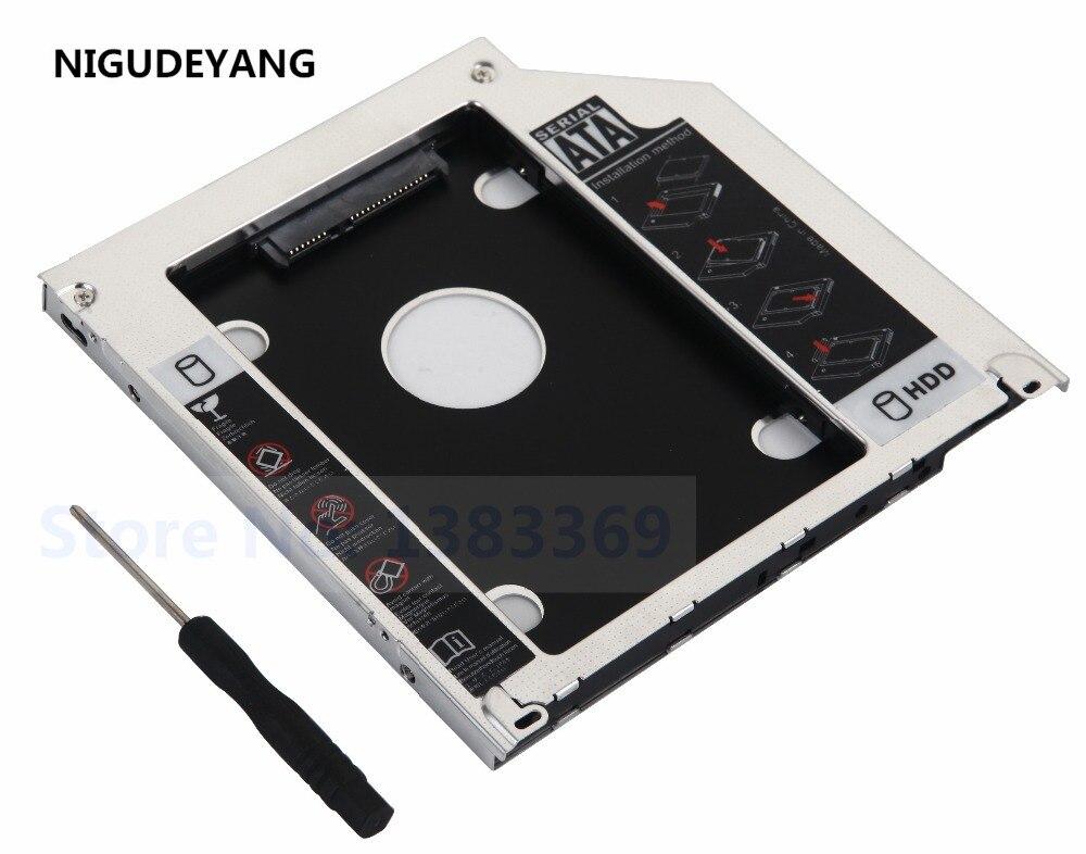 """. Zweite Sata Hdd Ssd Festplatte Unibody Caddy Für Macbook Pro 13 """"15"""" 17 """"2009 2010 2011 2012 GroßE Vielfalt"""