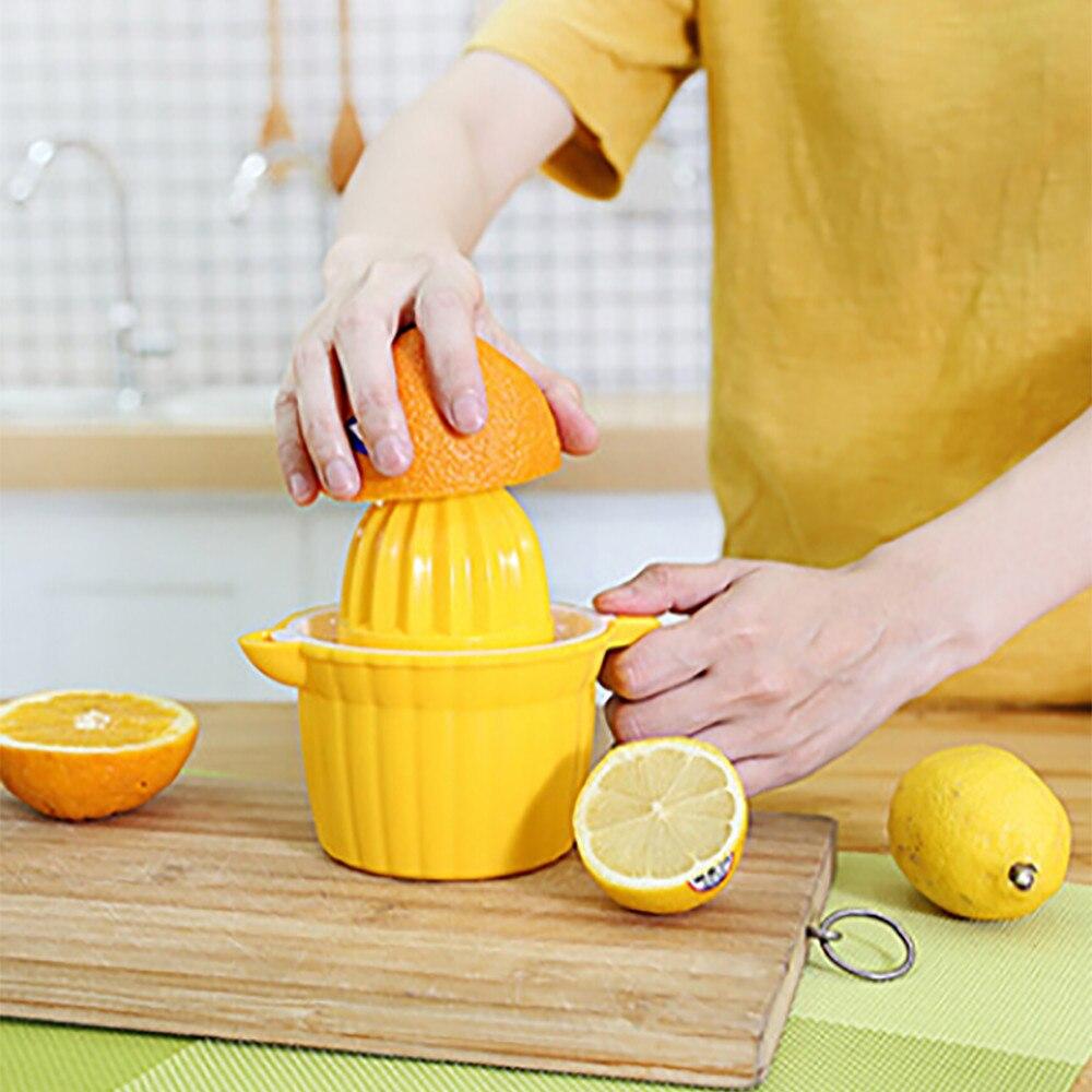 Cabeça dupla Espremedor Manual de Laranja Lima Limão Citrus Espremedor de Suco de Frutas Bebida F324