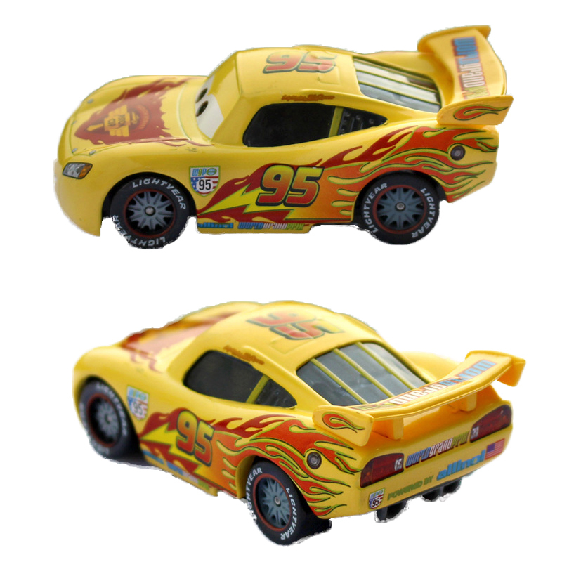 Disney Pixar Cars 3 New Lightning McQueen Jackson Storm Cruz Ramirez Mater 1:55 Diecast Metal Alloy Car Model Kid car Toy tracks