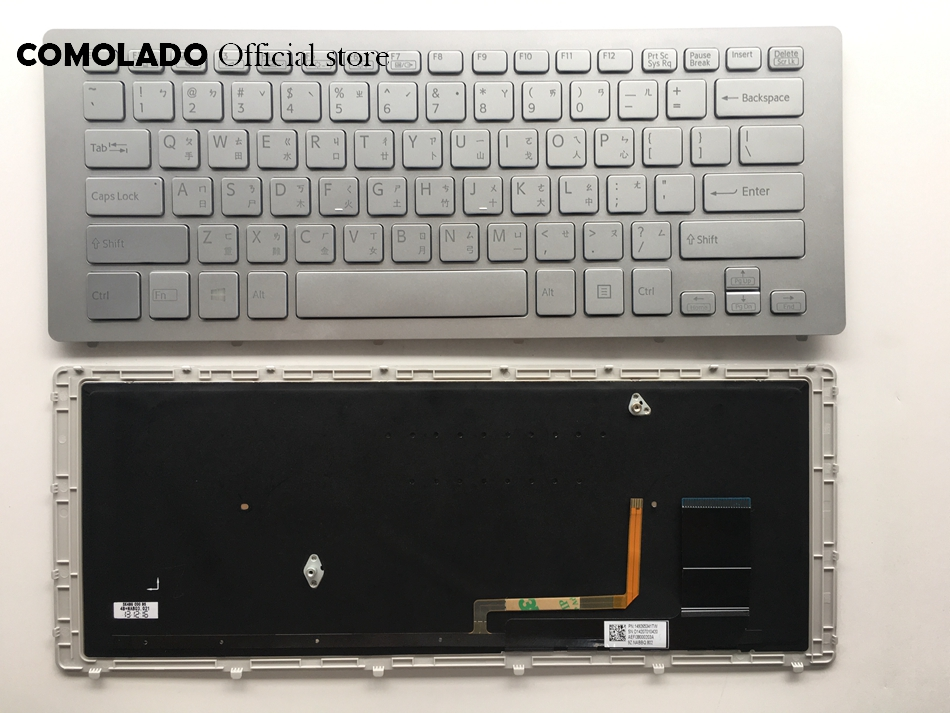 CH Laptop Keyboard For SONY SVF15N Series SVF15N100C SVF15N18SCB SVF15N18SCP SVF15N18SCS Sliver With backlight keyboard in Replacement Keyboards from Computer Office