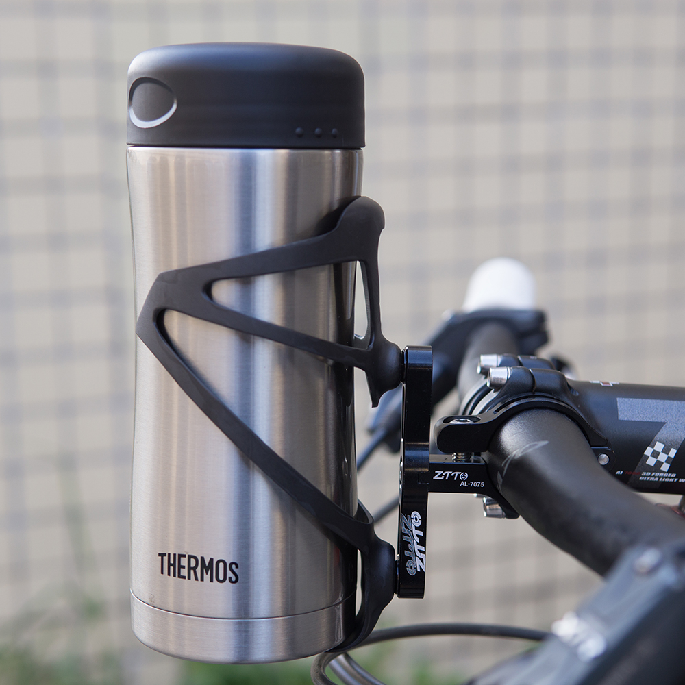 BICYCLE WATER BOTTLE CAGE HANDLEBAR BAR ADAPTER 25.4mm