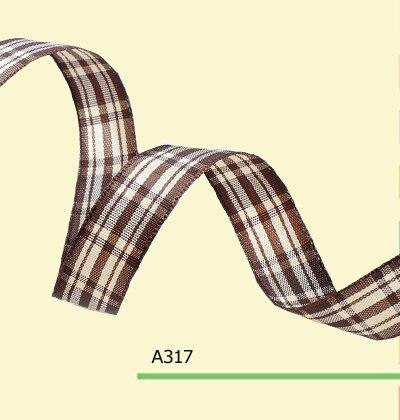 100yards roll 3 8 Inch 10mm Scottish font b Tartan b font Plaid Ribbon For Clothing