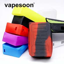 3pcs Colorful Silicone Case Sleeve Protective Covers Skin for Voopoo DRAG TC 157w Box Mod