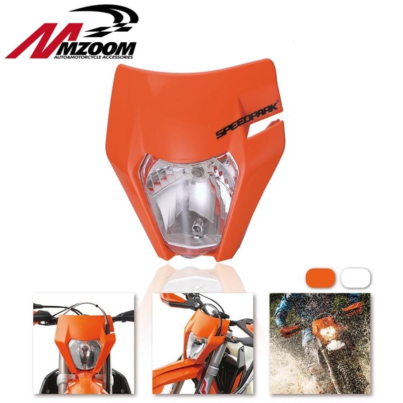 Motorcycle Headlight Headlamp For 2017 18 KTM Headligt EXC XCF SX F SMR Enduro Dirt Bike Motocross Supermotor