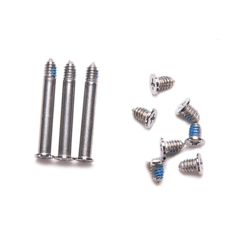 10pcs/Set Universal Computer Case Cover Bottom Back Screws