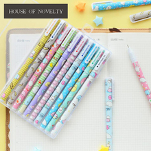 10 pcs/pack Sumikko Gurashi Baby Colored Gel Pen Ink Pen Promotional Gift Stationery School & Office Supply(China)