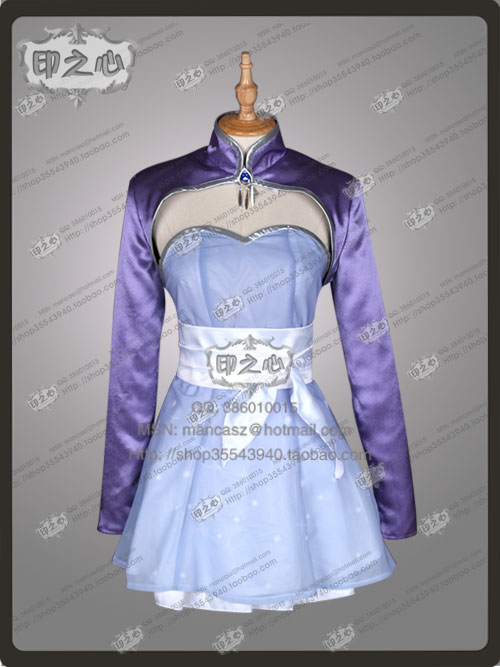 2016 Winter Schnee's Sister Weiss Schnee Cosplay Costume From RWBY Cosplay Dress