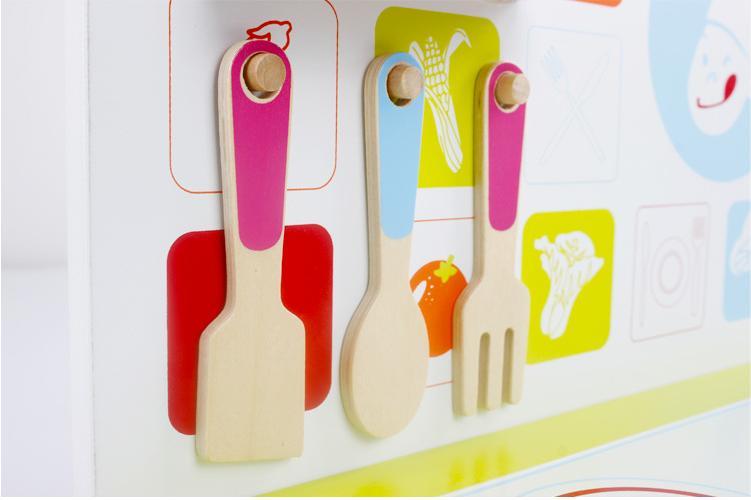 Houten Keuken Kind : Big size merk kids houten keuken speelgoed met koken bench en pot