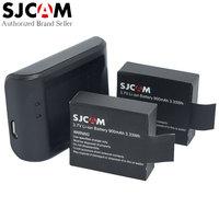 2 Pcs Original SJCAM Action Camera Battery 1 Pcs Desktop Charger For SJ4000 SJ4000 WIFI SJ5000