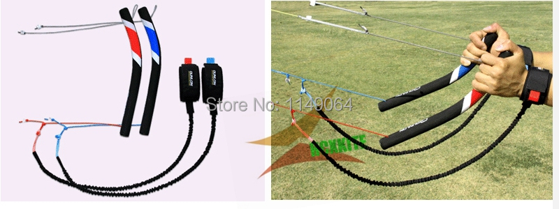 цены free shipping high quality Traction Kites control bar EVA used for 2-5square meters power kite surf parachute paraglider
