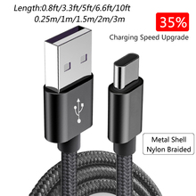 SUPTEC USB Type C Cable Fast Charging USB Type-C Data Cable for Samsung S8 S9 Huawei P9 P20 Xiaomi 4C 8 OnePlus Nexus 5X 6P 950