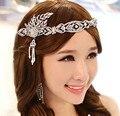 Бесплатная доставка 2015 новая мода Корейский Великий Гэтсби свадебные ювелирные изделия аксессуары для волос люкс тиара корона