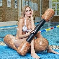 Inflatable Log Joust Set Raft Inflatable Water Joust Pool Float Set Joust Piscina Mattress Water Battle Game lifebuoy Kickboard