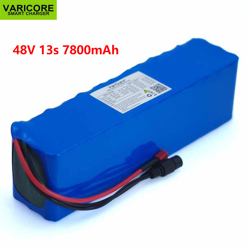VariCore 48V 7 8ah 13s3p High Power 7800mAh 18650 Battery Electric Vehicle Electric Motorcycle DIY Battery