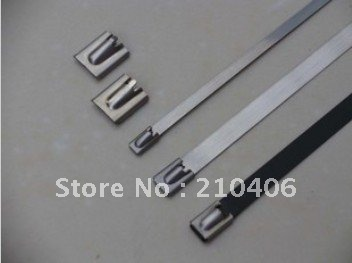 stainless steel cable tie 8mm 450mm used in shipping