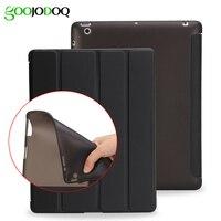 For Ipad 2 3 4 Smart TPU Soft Case Ultra Slim PU Leather Cover Flip Back