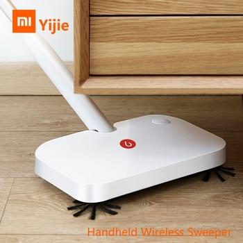 Xiaomi yijie sem fio handheld sweeper Ye 01 inteligente varrendo máquina de limpeza de chão com 30 pces substituição não tecido|Controle remoto inteligente|Eletrônicos -