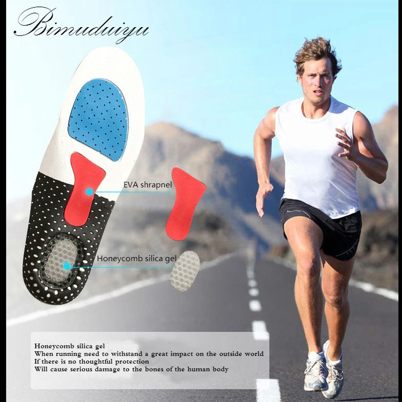 Silicone Gel Insole Orthotic Arch Support Shoe Pad Sport Running Cushion Inserts