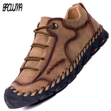 New Summer Soft Men Casual Shoes Handmade Leather Loafers Men Italy Ro