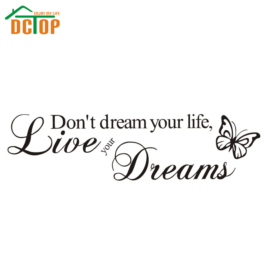 Live Your Life Quotes Dctop Don't Dream Your Lifelive Your Dreams Inspirational