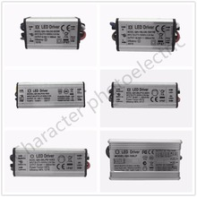 цена на IP67 AC85-265V DC 24V- 38V lighting Transformer Adapter LED Driver For DIY 10W 20W 30W 50W 100W 150W 200W  lamp COB Chip driver