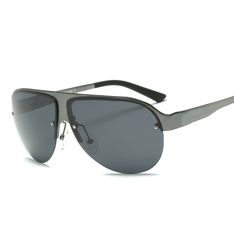LUFF 2017 New Aluminum Magnesium Frame HD Polarized Lens Retro Men s font b Sunglasses b