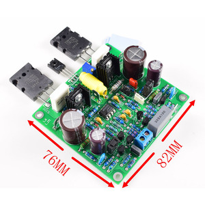 Image 2 - Lusya 2pcs Accuphase E210 Modified Power Amplifier Board 150W 8ohm finished board DC 25V 55V F8 005